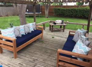 Outdoor couch frame for Sale in Salem, VA
