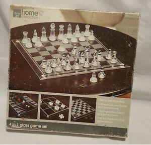 Glass set board games for Sale in Las Vegas, NV