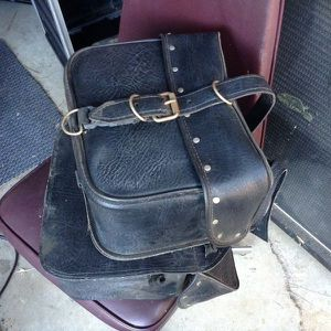 Motorcycle Saddle Bags - Yamaha Honda Kawasaki Harley Bobber Suzuki for Sale in Bellflower, CA