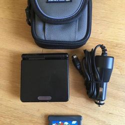 Nintendo Gameboy Advance SP AGS-001 with Super Mario Game for Sale in University Place,  WA