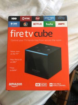 Fire Tv Cube for Sale in Brier, WA