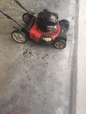 Selling lawn mower yard machine 21inch for Sale in Ruskin, FL