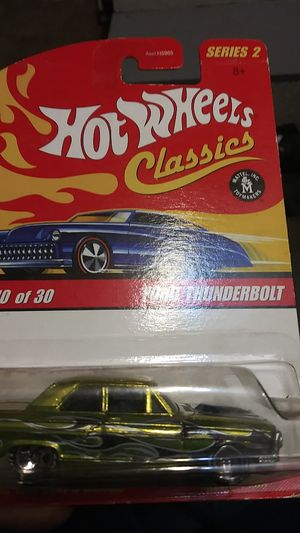 Ford Thunderbolt Hot Wheel classics for Sale in Los Angeles, CA