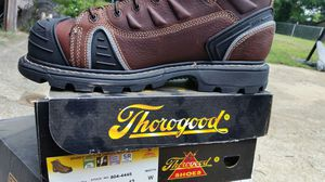 Thorogood steel toe boots for Sale in Nashville, TN