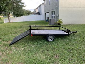 4x6 utility trailer, has newer wiring kits and new lights. Has a spare tire holder. for Sale in Hudson, FL