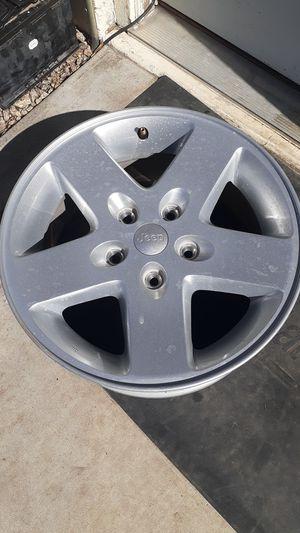 """5 Stock jeep 17"""" wheels for Sale in Phoenix, AZ"""