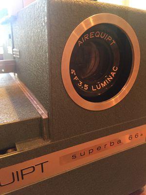 Airquipt Superba Vintage Slide Projector for Sale in Miramar, FL