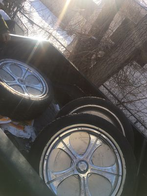 Davins rims 24 for Sale in Saginaw, MI