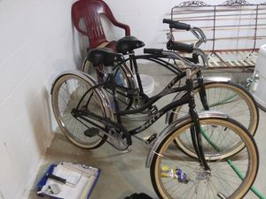 50s style his n hers rode very little vgc $150 for both for Sale in Princeton, WV