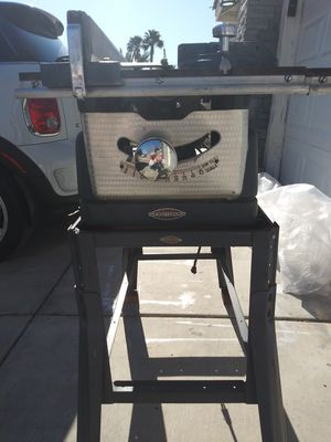 Vintage sears and roebuck table saw for Sale in North Las Vegas, NV