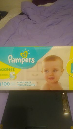 Pampers swaddlers for Sale in Desert Hot Springs, CA