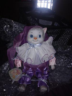 Porcelain cat jester for Sale in Garden Grove, CA