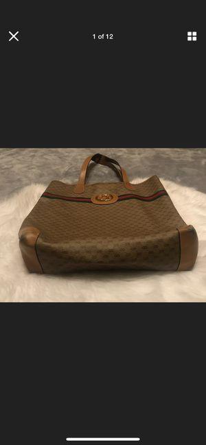 Gucci Bag GG Brown Monogram Tote for Sale in Las Vegas, NV