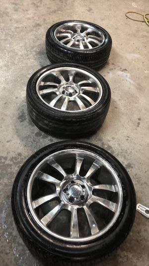 Rims and tires for sell for Sale in Philadelphia, PA