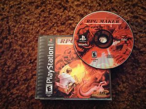RPG Maker PlayStation 1 PS1 GAME TESTED WORKS for Sale in Columbus, OH
