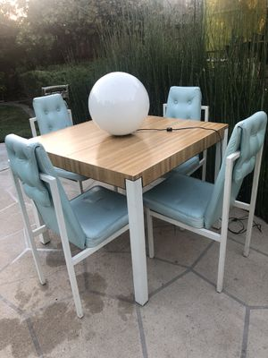 PROJECT! Space Age Modern Dining Set for Sale in San Francisco, CA