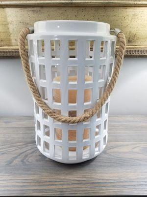White Barn Home Decor Farmhouse Lantern for Sale in Jackson Township, NJ