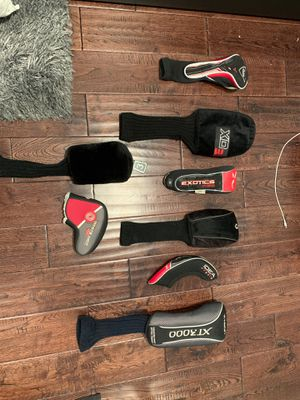 Golf club head coverings for Sale in Hoffman Estates, IL