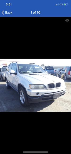 2002 BMW X5 3.0L FULL PART OUT for Sale in Rancho Cordova, CA