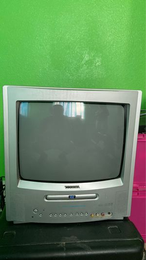 "13"" Toshiba DVD Player TV as is for Sale in Saint Hedwig, TX"