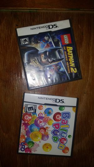 Nintendo DS LEGO BATMAN And BALLOON POP LIKE NEW for Sale in Lakeland, FL