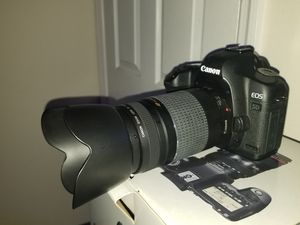canon Mark ii 5d cameral with 75mm-300mm ultrasonic canon lense for Sale in Bowie, MD