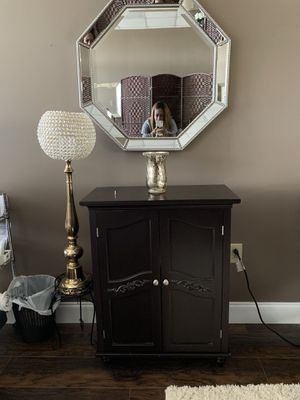 Octagon mirrors and storage cabinet for Sale in Maitland, FL
