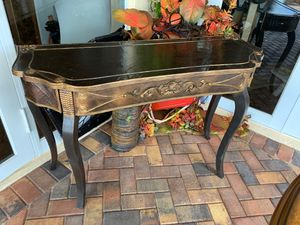 Antique refurbished accent table for Sale in Plantation, FL