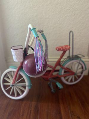 Journey Girls Doll Bike & Helmet for Sale in Fort Lauderdale, FL