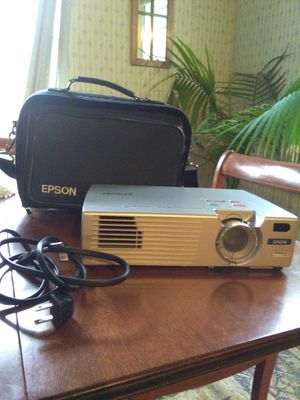 Epson projector 730c works with case $100 or best offer for Sale in Trinity, NC