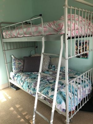 Restoration Hardware millbrook iron bunk bed for Sale in Poway, CA