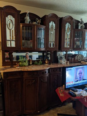 Antique Twin Marble Cabinets for Sale in Washington, DC