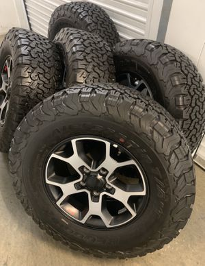 Jeep Wrangler Rubicon Wheels Rims Tires 2020 NEW for Sale in Carson, CA