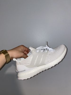 "Adidas UltraBoost ""Triple white"" Size US MEN 8 for Sale in Los Angeles, CA"