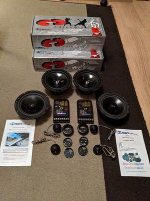 CDT Audio 6.5 components and coax speakers for Sale in Queen Creek, AZ