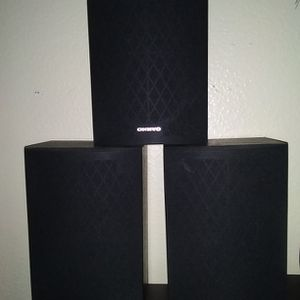 Onkyo 3 Speakers No Wires And Plugs for Sale in Escondido, CA
