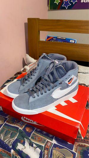 Nike Blazer Mid Rebel Cool Grey for Sale in Alexandria, VA
