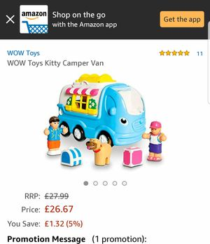 WOW Kitty Camper Van for Ages 1-5 Years for Sale in Phoenix, AZ