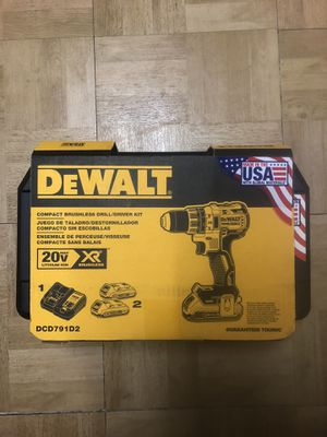 Dewalt XR 20v Drill New never opened for Sale in San Diego, CA