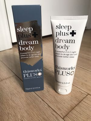 This Works sleep plus dream body Night Cream. New. for Sale in Dallas, TX