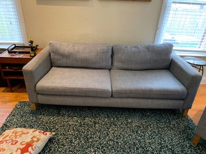IKEA Karlstad Sofa and Chair for Sale in Tampa, FL