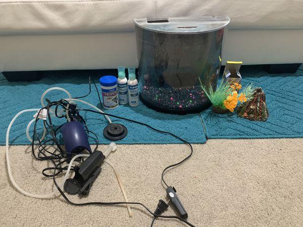 GloFish Tank with filter