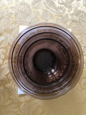 3 Nesting Pyrex Baking and Serving Bowls for Sale in Rochester Hills, MI
