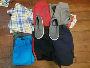 Boys clothes. Size between 18 months to 4t pair of shoes size 7 kids for Sale in East Longmeadow, MA
