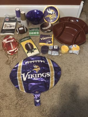 Vikings Party Supplies for Sale in North Saint Paul, MN