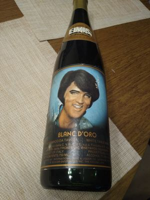 Antique Elvis Bottle (empty) for Sale in Hinsdale, IL