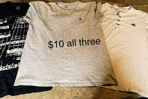 Lot of designer's men's clothes for Sale in Spring Hill, FL