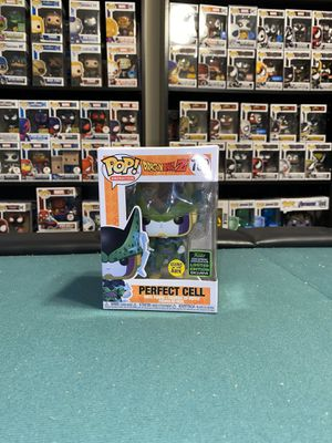 Funko Dragonball Z Perfect a Cell GITD ECCC 2020 Hot Topic Exc Pop for Sale in Houston, TX