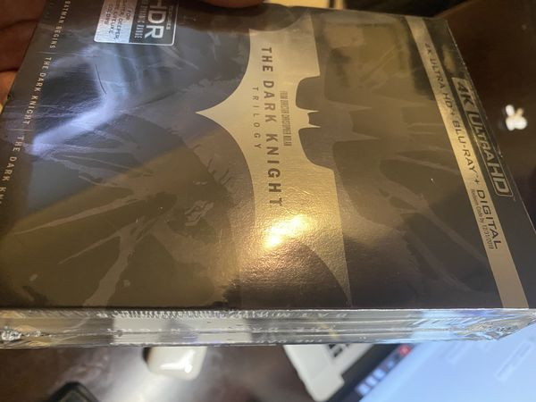 The Dark Knight Trilogy 4K HDR sealed