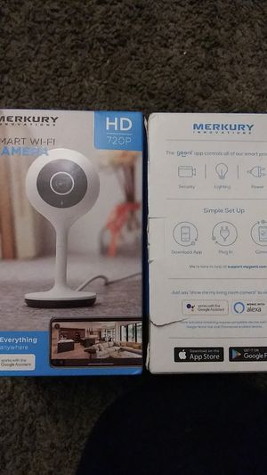 Merkury innovation smart WiFi camera for Sale in Aurora, CO